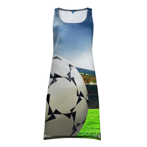 Платье-майка 3D Футбол