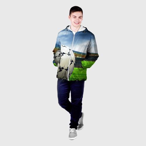 Мужская куртка 3D  Фото 03, Футбол