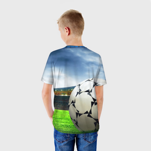 Детская футболка 3D  Фото 02, Футбол