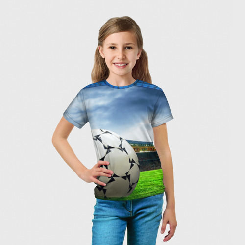 Детская футболка 3D  Фото 03, Футбол