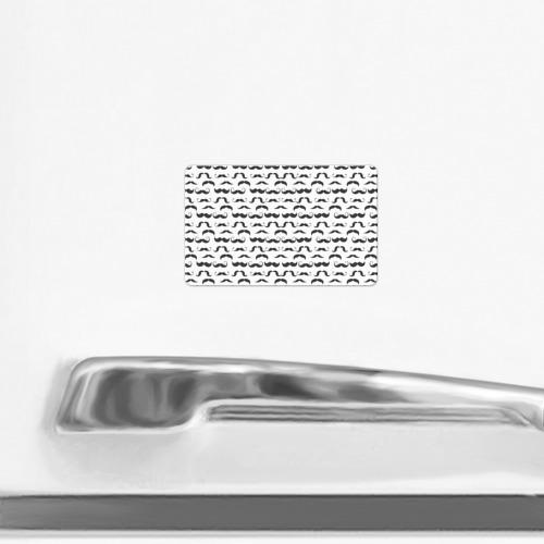 Магнит виниловый Visa  Фото 02, Усы хипстера паттерн