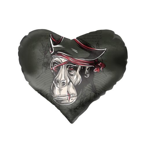 Подушка 3D сердце  Фото 02, Старый пират