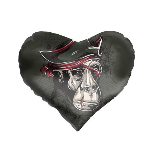 Подушка 3D сердце  Фото 01, Старый пират