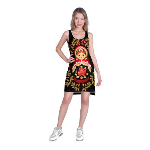 Платье-майка 3D  Фото 03, Матрешка