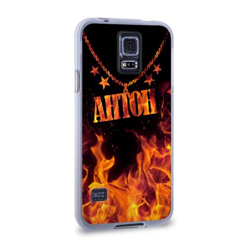Чехол для Samsung Galaxy S5 силиконовый  Фото 02, Антон