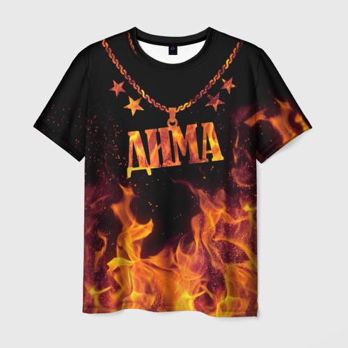 Мужская футболка 3D  Фото 03, Дима