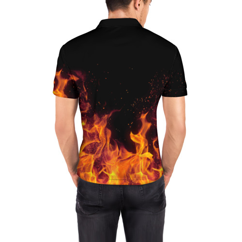 Мужская рубашка поло 3D  Фото 04, Дима