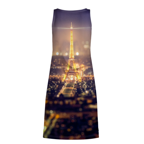 Платье-майка 3D  Фото 02, Эйфелева башня