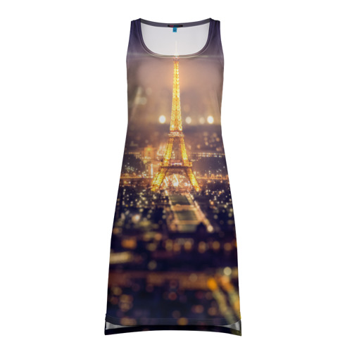 Платье-майка 3D  Фото 01, Эйфелева башня