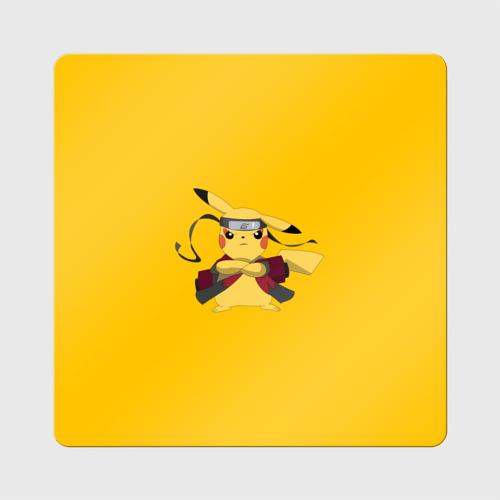 Магнит виниловый Квадрат Pikachu (Naruto Sage Mode) Фото 01