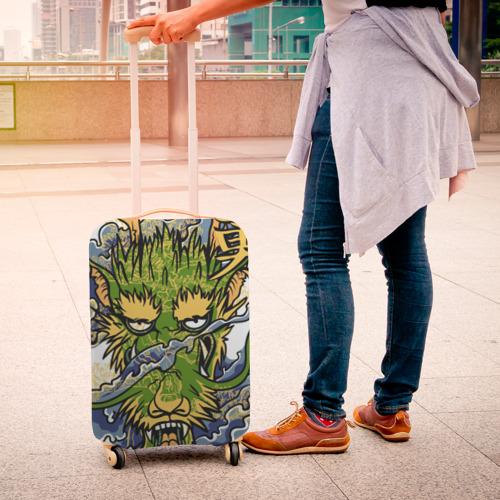 Чехол для чемодана 3D  Фото 04, Таинственный дракон
