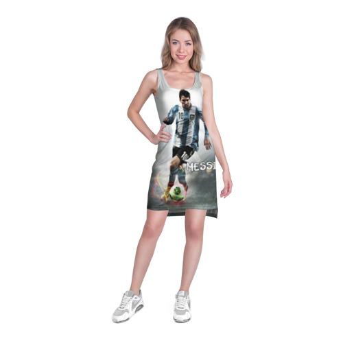 Платье-майка 3D  Фото 03, Leo Messi