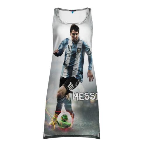 Платье-майка 3D  Фото 01, Leo Messi