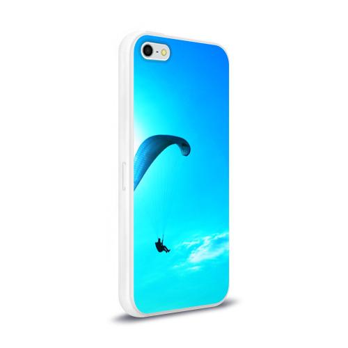 Чехол для Apple iPhone 5/5S силиконовый глянцевый  Фото 02, Прыжок