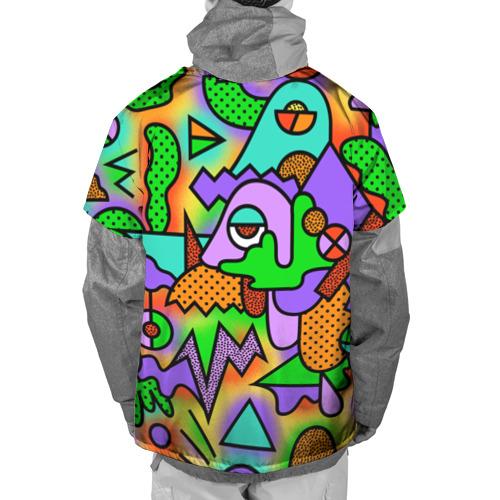 Накидка на куртку 3D  Фото 02, Прекрасный орнамент