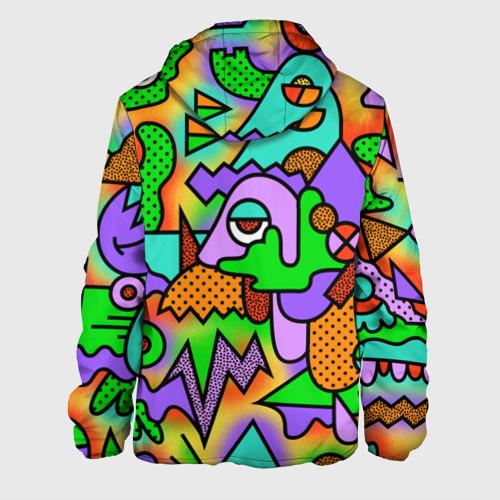 Мужская куртка 3D  Фото 02, Прекрасный орнамент