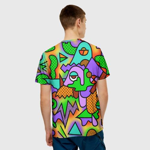 Мужская футболка 3D  Фото 02, Прекрасный орнамент