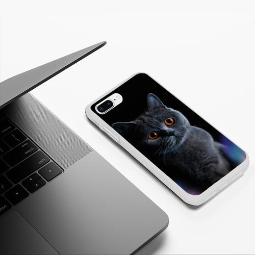 Чехол для iPhone 7Plus/8 Plus матовый Британец 1 Фото 01