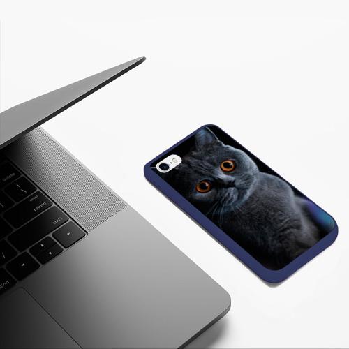 Чехол для iPhone 6/6S матовый Британец 1 Фото 01