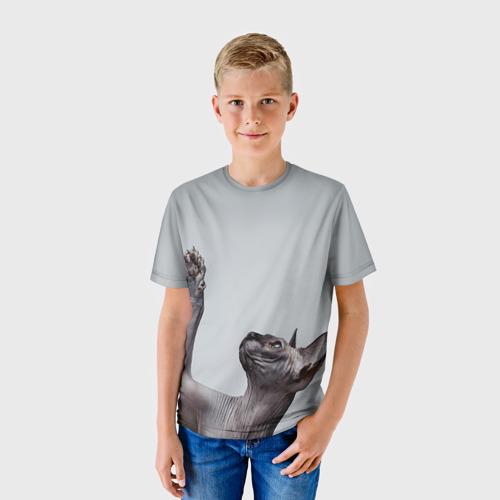 Детская футболка 3D  Фото 01, Сфинкс 3