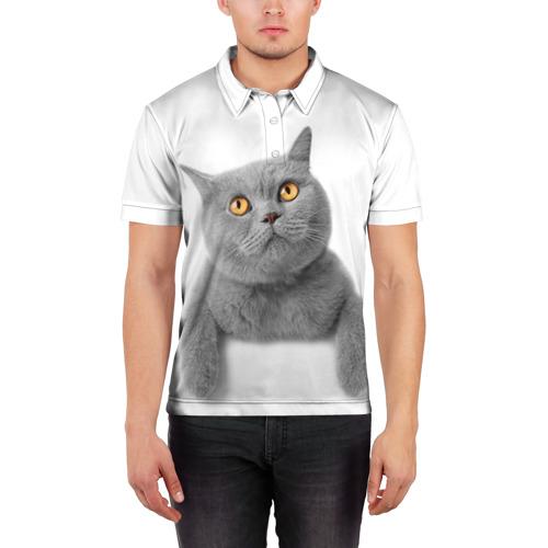 Мужская рубашка поло 3D  Фото 03, Британец 2
