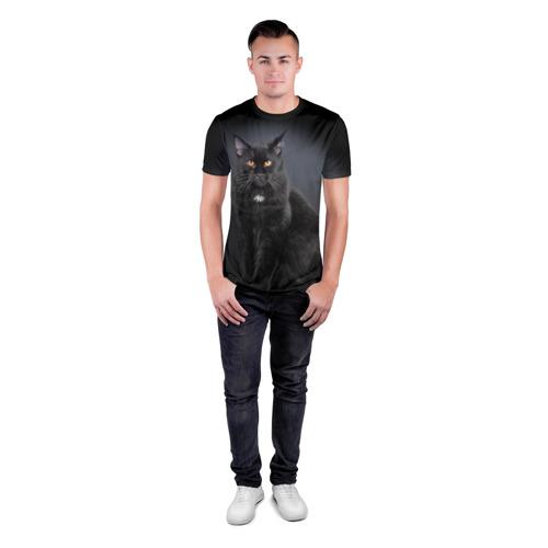 Мужская футболка 3D спортивная  Фото 04, Мейн-кун 3