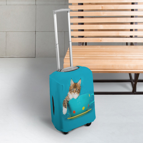 Чехол для чемодана 3D  Фото 03, Мейн-кун 4