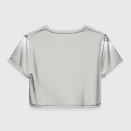 Женская футболка Crop-top 3D Британец 6 Фото 01