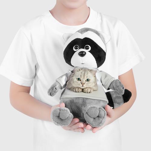 Енотик в футболке 3D Британец 6 Фото 01