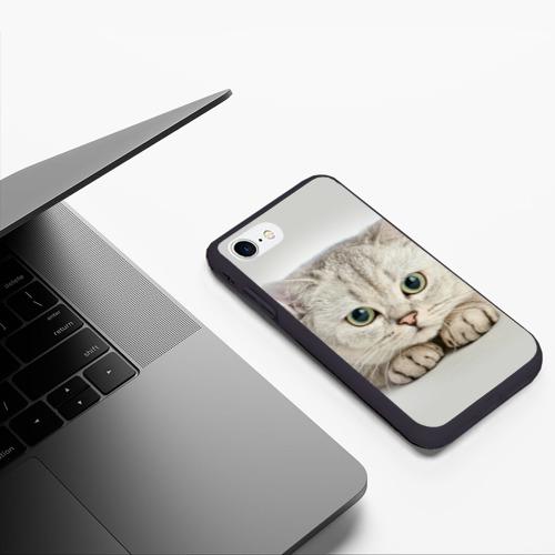 Чехол для iPhone 7/8 матовый Британец 6 Фото 01