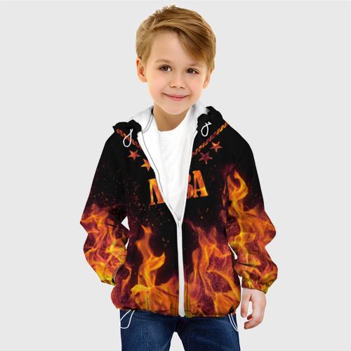 Детская куртка 3D  Фото 03, Лёва