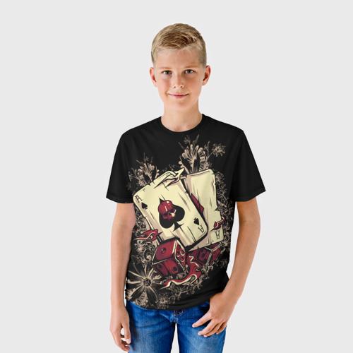 Детская футболка 3D Карты дьявола