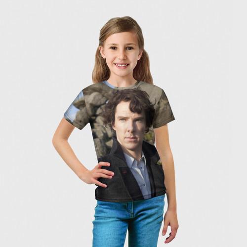Детская футболка 3D Холмс Фото 01