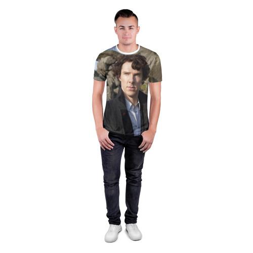 Мужская футболка 3D спортивная  Фото 04, Холмс
