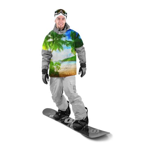 Накидка на куртку 3D  Фото 03, Тропики