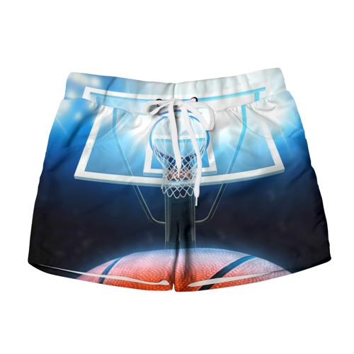 Женские шорты 3D Баскетбол
