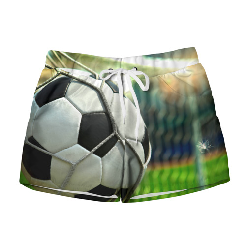 Женские шорты 3D Футбол