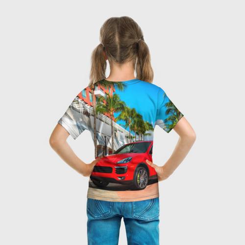 Детская футболка 3D  Фото 04, Porsche