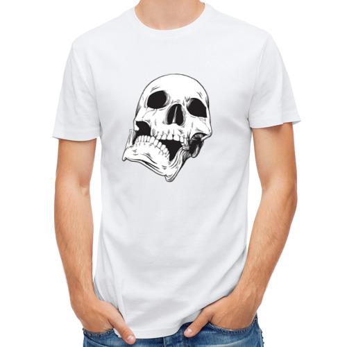 Мужская футболка полусинтетическая  Фото 01, Череп 4