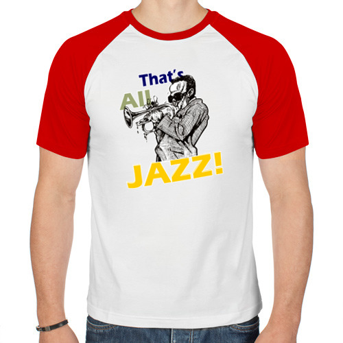 Мужская футболка реглан  Фото 01, That's All Jazz