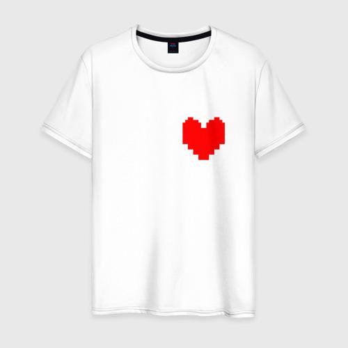 Мужская футболка хлопок Undertale Heart