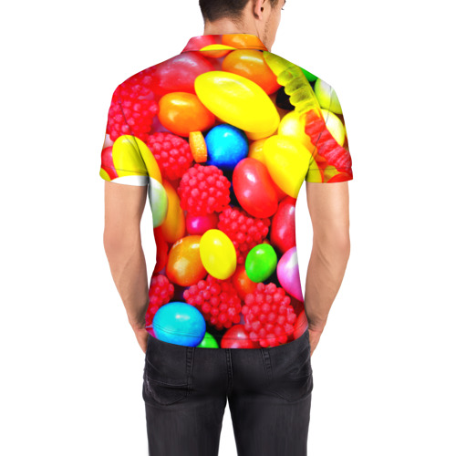 Мужская рубашка поло 3D  Фото 04, Sweet Candy
