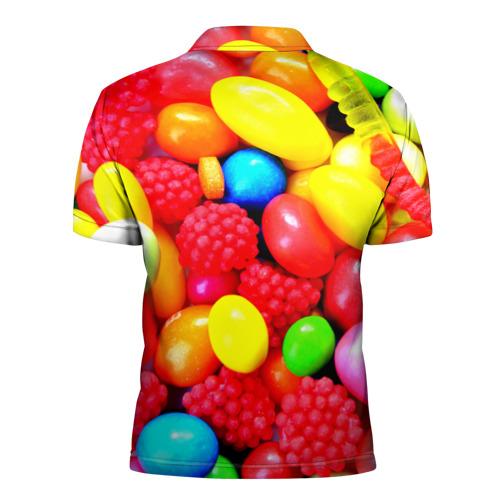 Мужская рубашка поло 3D  Фото 02, Sweet Candy