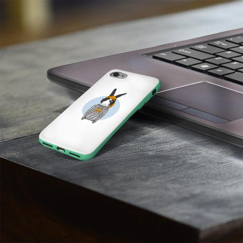 Чехол для Apple iPhone 8 силиконовый глянцевый Хипстер 24 Фото 01