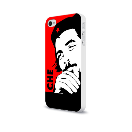 Чехол для Apple iPhone 4/4S soft-touch  Фото 03, Че Гевара