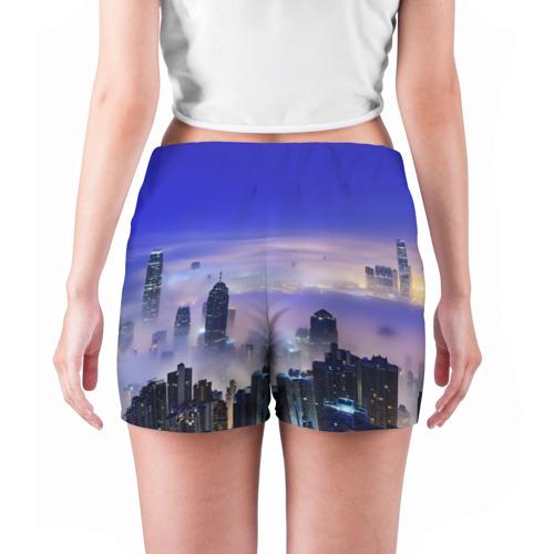 Женские шорты 3D  Фото 04, Город 3
