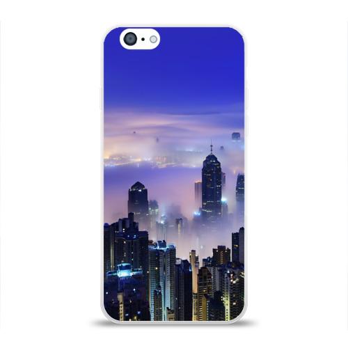 Чехол для Apple iPhone 6 силиконовый глянцевый  Фото 01, Город 3