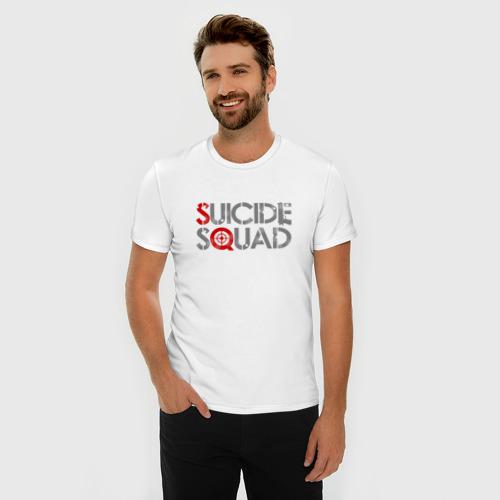 Мужская футболка премиум  Фото 03, Отряд самоубийц