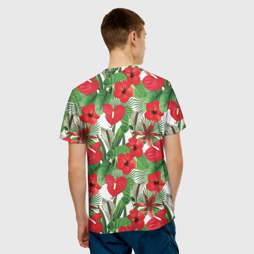 Мужская футболка 3D Фэшн 3