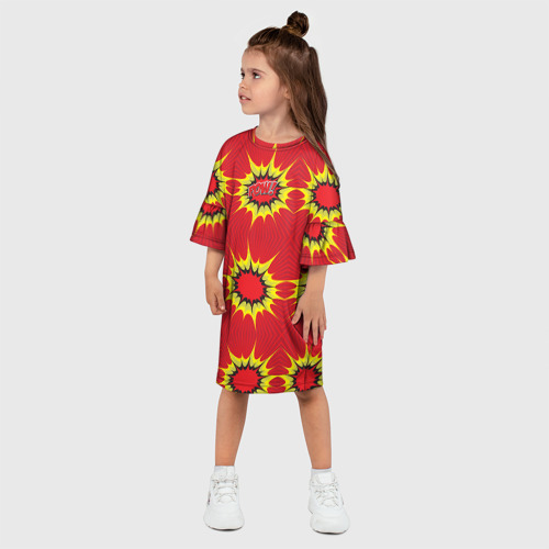 Детское платье 3D  Фото 03, Поп арт 16